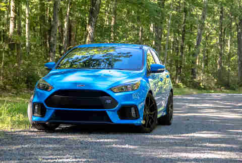 2017 Ford Focus Rs With Drift Mode First Drive Review Thrillist