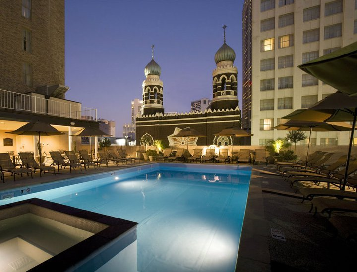 Hotels In New Orleans >> Rooftop Bar At The Roosevelt Hotel A New Orleans La Bar