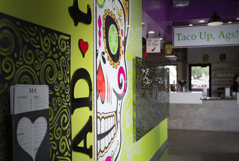 mad taco interior college station