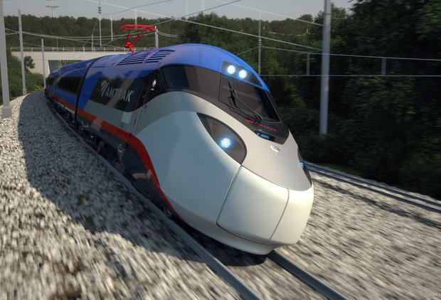 Amtrak\'s Finally Getting High-Speed Trains Like the Rest of the World