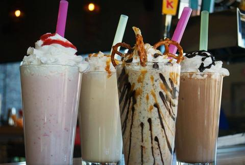 Grub Burger Bar shakes