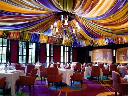 French fine dining and great wine list at Le Cirque in Bellagio Las Vegas