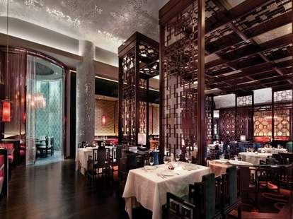 Upscale modern Chinese dining at Blossom at the Aria Las Vegas