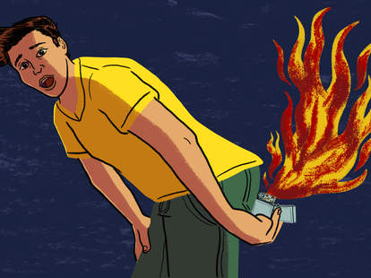 farting illustration