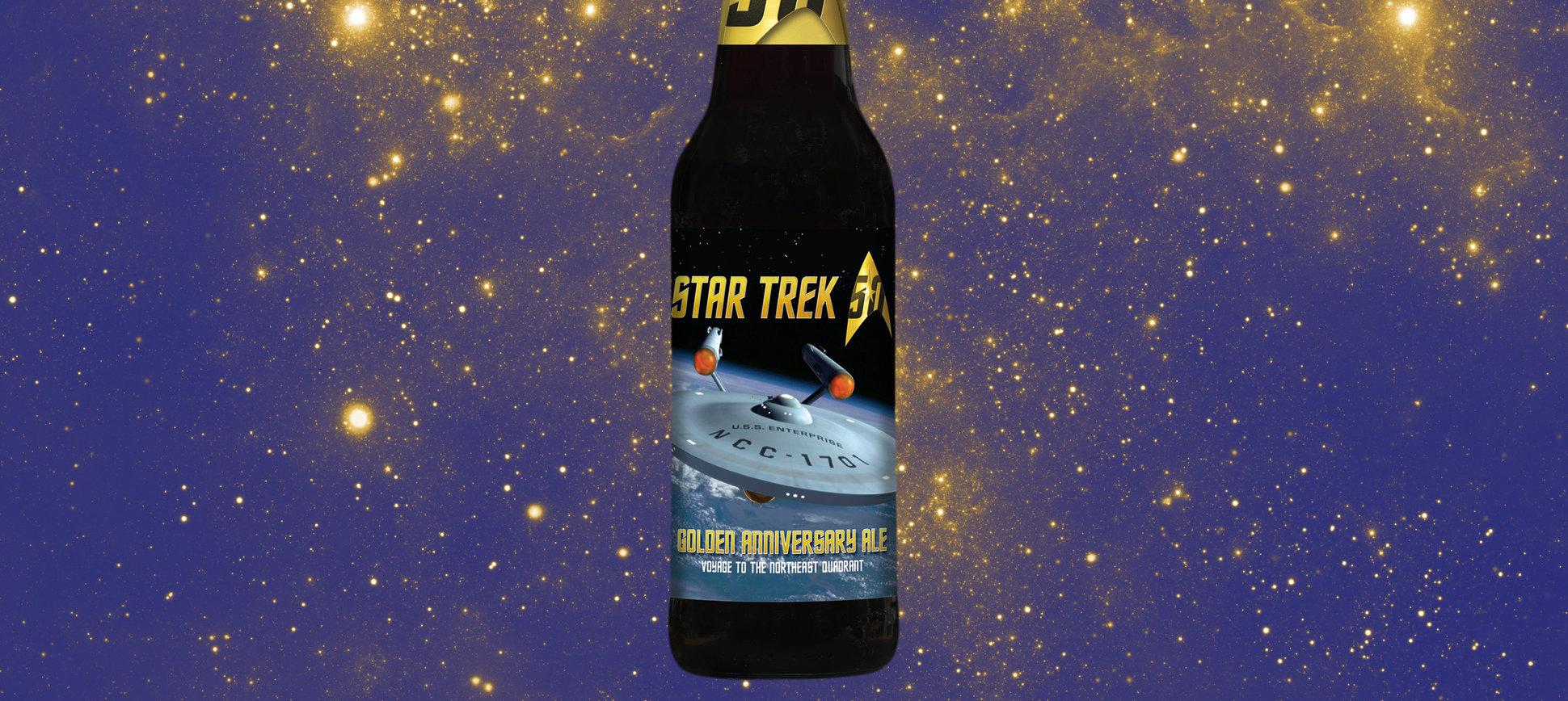 \'Star Trek\' Beer Is Here, if You Khan Believe It