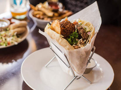 Mediterranean food and healthy eats at Banzo in Madison WI