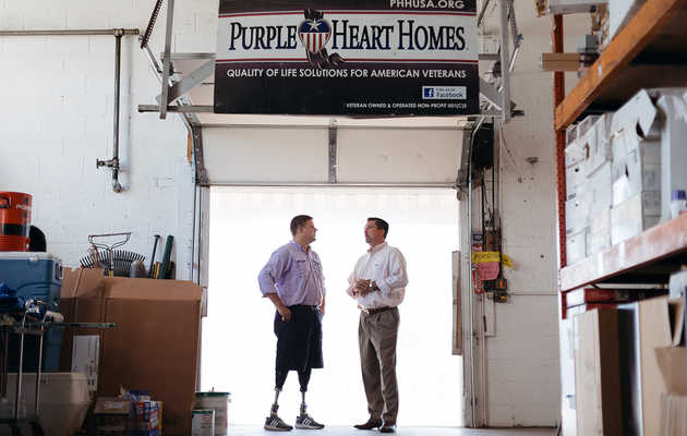 Purple Heart Homes is Helping Vets Get Their Lives Back One Brick at a Time