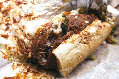skirt steak sandwich