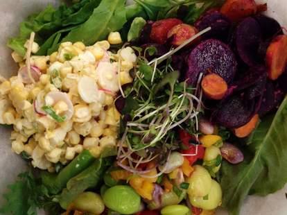 salad from smithtown seafood lexington