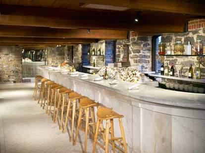 Sea Catch Restaurant interior