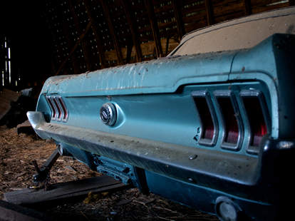 Barn Find Mustang