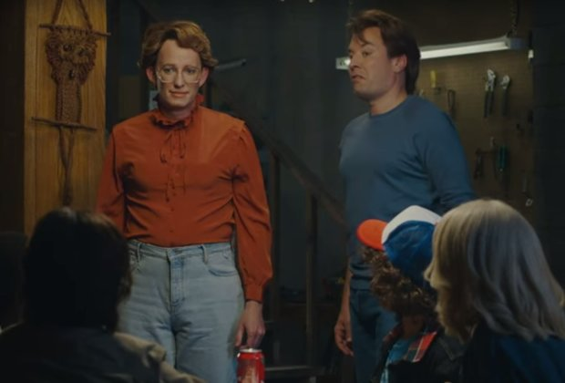 Barb Makes an Angry Return to 'Stranger Things' on 'The Tonight Show'