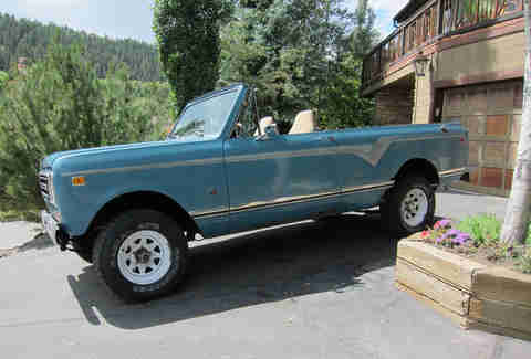 International Scout Traveler for sale