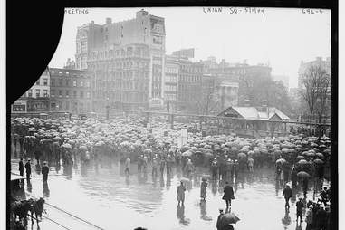 union square on labor day library of congress