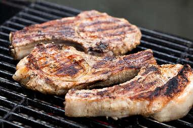 pork chops grilled