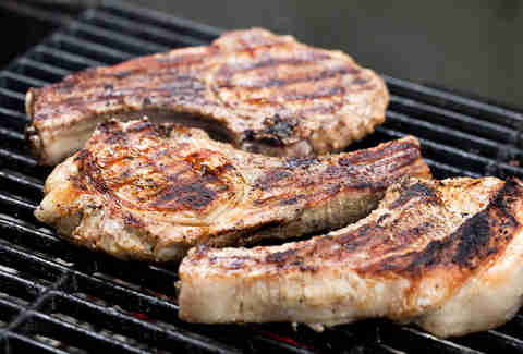 pork chops grilled