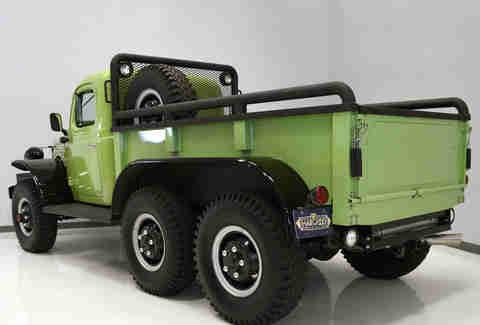 classic dodge power wagon restomod 6x6 used truck for sale thrillist. Black Bedroom Furniture Sets. Home Design Ideas