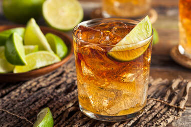 Ginger Beer and Lime