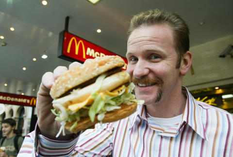 Supersize Me Morgan Spurlock Netflix
