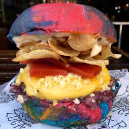 Willy Wonka burger