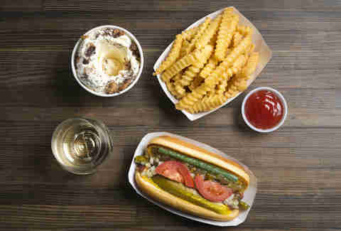 Shake Shack Hot Dog
