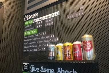 Shake Shack Beer