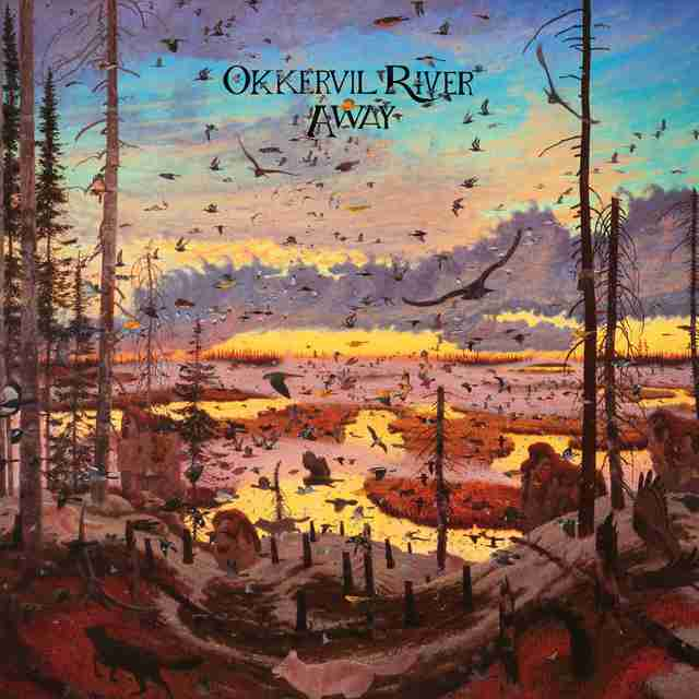 Okkervil River Away Album Cover