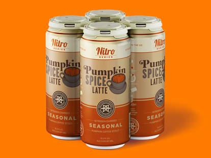 Nitro Pumpkin Spice Latte