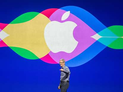 Tim Cook Apple announcement