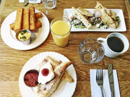 Sunday brunch at Ludger in Montreal