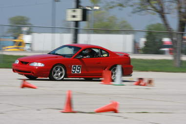 Autocross is a fun alternative to car control clinics