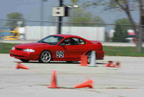Autocross is a fun alternative to car control clinics