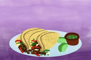 hail seitan tacos