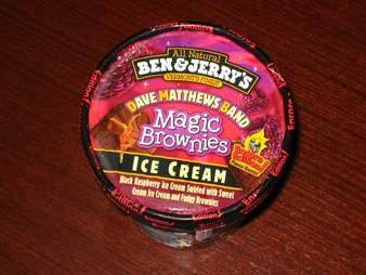 Dave Matthews Band ice cream