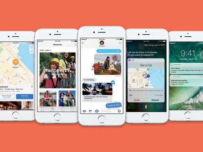 apple ios 10 features
