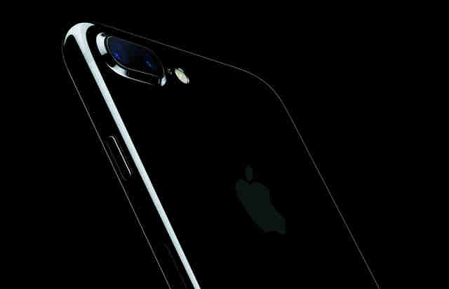 apple iphone 7 plus dual lens camera