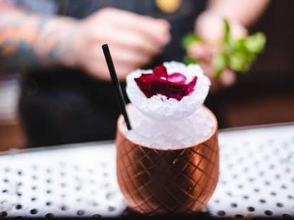Baldwin Bar cocktail