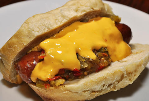 Gourmet hot dogs and great beer selection at D's Six Pax & Dogs in Pittsburgh