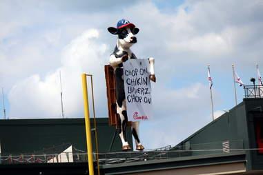 Turner Field Chick-fil-a Cow