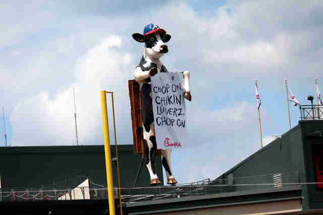 Turner Field Chick-fil-a Cow