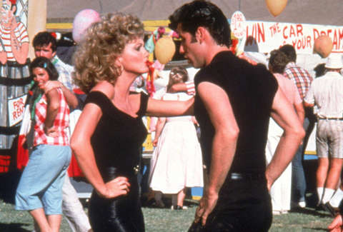 grease sandy danny olivia newton-john john travolta