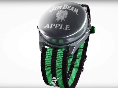 Jim Beam Apple Watch Parody