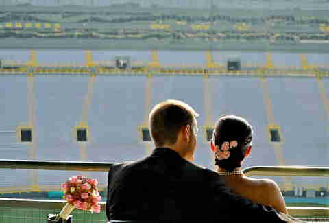 Wedding at Lambeau Field