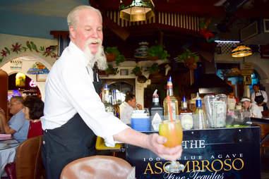 Tequila cart casablanca