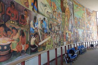 Pan American Unity mural