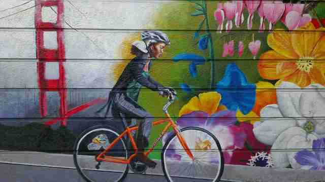 the wiggle mural