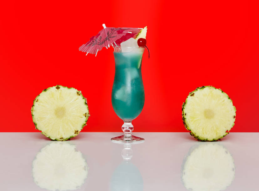 Blue Hawaii Drink Ingredients How To Make A Blue Hawaii Thrillist