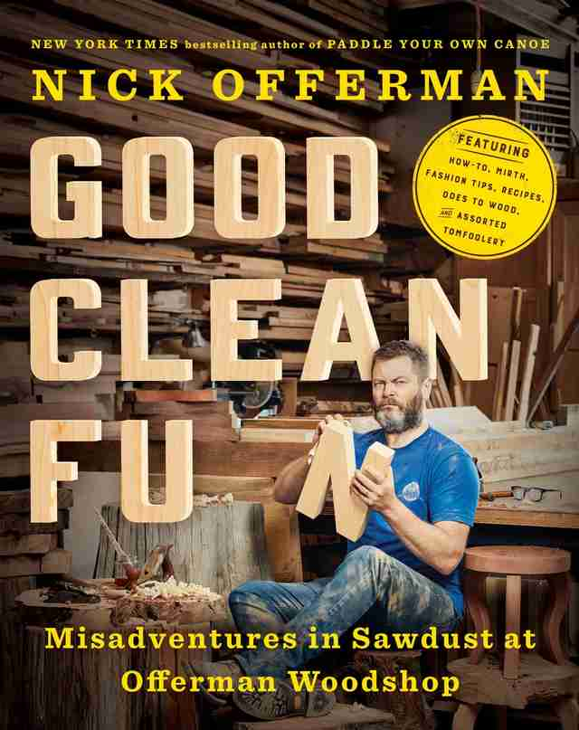 nick offerman woodshop book