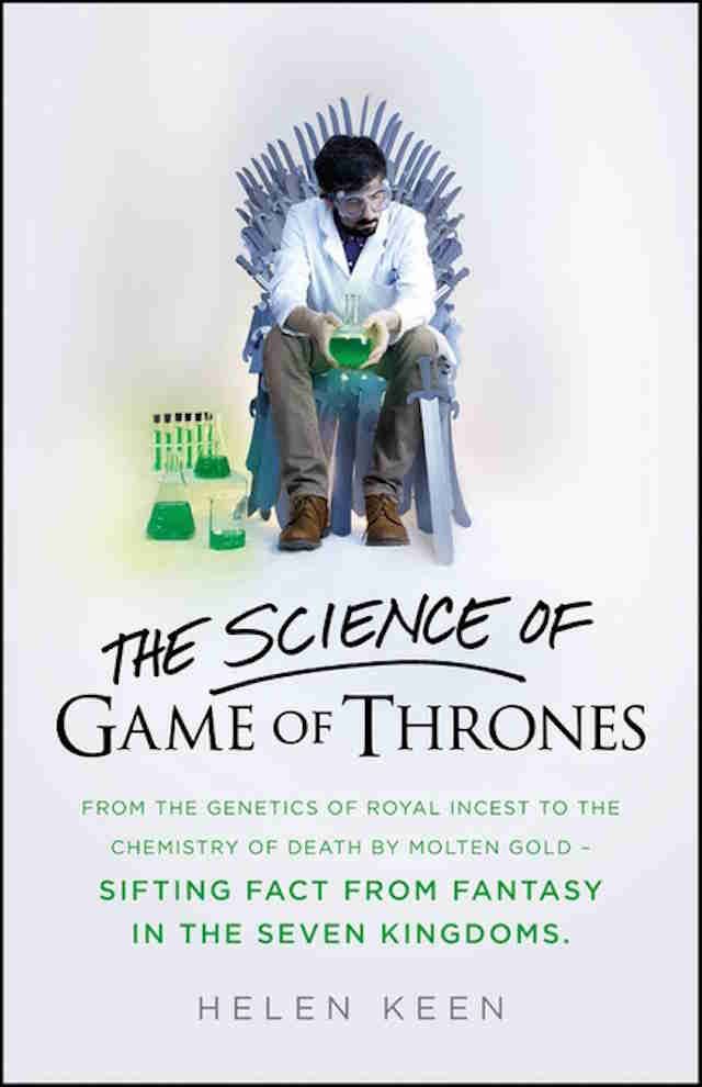 game of thrones science theories book