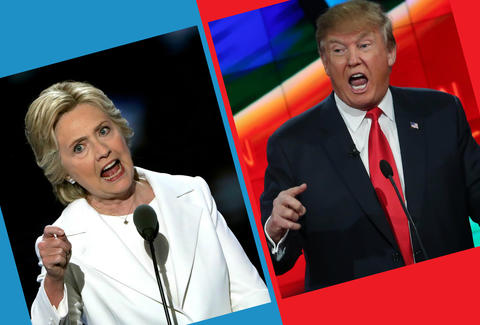 hillary and trump presidential debates